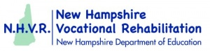 New Hampshire Vocational Rehabilitation Logo and Website Link
